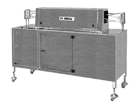 Aparelho para Limpeza de Latas por Sopro de Ar Ionizado Sistema Linear