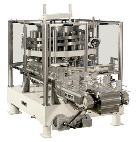 Dosadora Volumétrica à Pistão para Produtos Líquidos ou Pastosos em Potes de Vidro