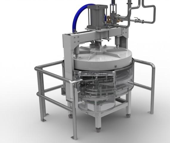 Gaseadeira de Latas para Modificação de Atmosfera