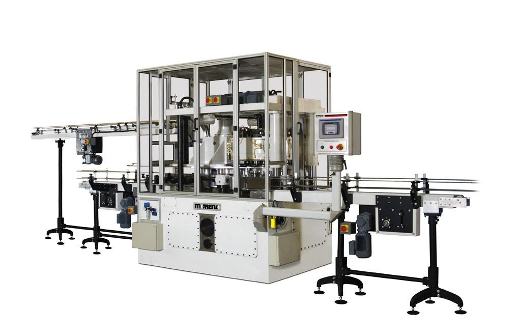 Recravadeira Automática de Alta Performance com Sistema Roletes
